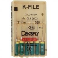 K-vijlen Colorinox 21 mm ISO 035 Groen