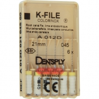 K-vijlen Colorinox 21 mm ISO 045 Wit