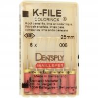 K-vijlen Colorinox 25 mm ISO 006 Roze