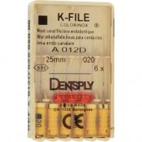 K-vijlen Colorinox 25 mm ISO 020 Geel