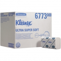 Kleenex Ultra Handdoeken Super Soft Gevouwen Wit 21,5 x 41,5 cm
