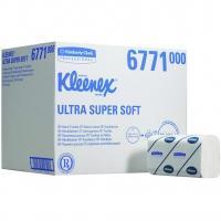 Kleenex Ultra Handdoeken Super Soft Intergevouwen Wit 21,5 x 31,5 cm