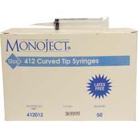 Monoject Spuiten 412 Gebogen Tip Kaakspoelspuit